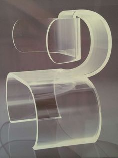 """""""Lombard"""" Lucite Chairs by Charles Hollis Jones"""