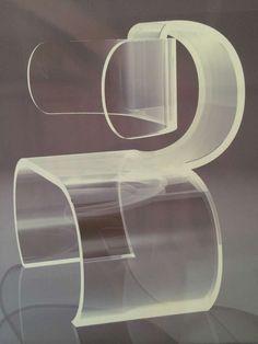 Bauhaus: Lombard chair by Charles Hollis Jones Acrylic Furniture, Funky Furniture, Design Furniture, Chair Design, Acrylic Chair, Lucite Chairs, Muebles Art Deco, Mug Design, Industrial Chair
