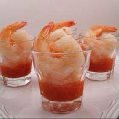 Shrimp in a Shot Glass!