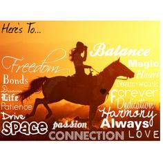 Here's to...horses!