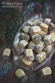Romanian Desserts, Romanian Food, My Recipes, Cookie Recipes, Dessert Recipes, Macarons, Delicious Deserts, Galletas Cookies, Sweet Pastries