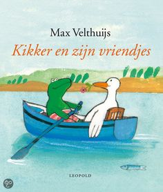 bol.com | Kikker En Zijn Vriendjes, Max Velthuijs | Boeken Hans Christian, I Love Books, My Books, Dutch Language, Bookshelves Kids, Elementary Schools, Childrens Books, Back To School, Reading