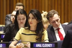 Human rights attorney Amal Clooney Human Rights Lawyer, Human Rights Issues, Amal Clooney, International Court Of Justice, Lebanese Civil War, Legal Advisor, University Of Toronto, Criminal Justice System, Foreign Policy