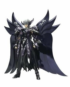 """Bandai Tamashii Nations Thanatos """"Saint Seiya"""" - Saint Cloth Myth by Bandai Tamashii Nations. Save 20 Off!. $68.25. Cape part included. Die-cast parts. Accessory parts included. From the Manufacturer                A limited re-release of the infamous Saint Cloth Myth Thanatos God of Death from the Saint Seiya The Hades Chapter Elysion. Cape and full array of accessories included in figure set. Die cast armor can be used for assembly of object. Ideal for displaying with Saint Cloth M..."""