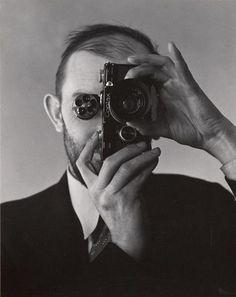 Portrait of Ansel Adams by Edward Weston.
