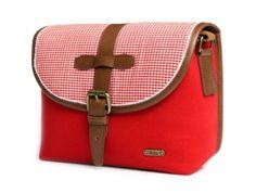 Torba Ciesta Strawberry #torba #torbanaaparat #camerabag #styleboxPL