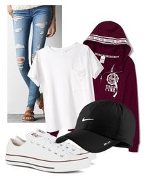 Field Trip by oliviagillis130 on Polyvore featuring AR SRPLS, American Eagle Outfitters, Converse and NIKE
