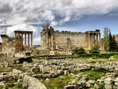 Baalbek - Lebanon..history lesson AND a vaca? I'm in.