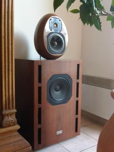 Focal Onken system. The original had the egg made of composite chalk/fiberglass.