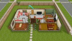 sims freeplay themed pretty pink houses peach play cute awesome sim definitely tile uploaded user room gift