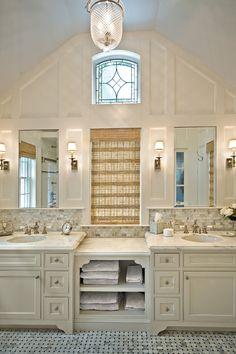 LOVE this bathroom! LOVE that window!