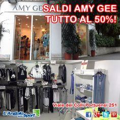 Fai un SALDO da #AmyGee ---> tutto al 50%! Viale dei Colli Portuensi 251.
