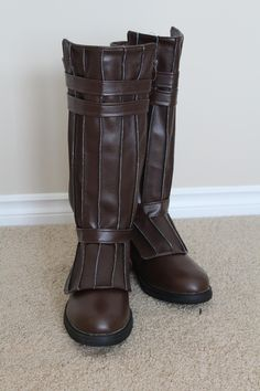 DIY jedi boots - SW Costumes Robes, Belts etc... - FX-Sabers.com