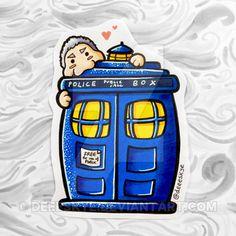 Doctor Who Chibi by DeeeSkye