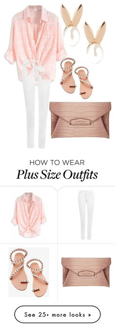 """""""Plus Size Chic"""" by noliviawalton on Polyvore featuring Givenchy, Elina Linardaki, Aamaya by priyanka and WearAll"""