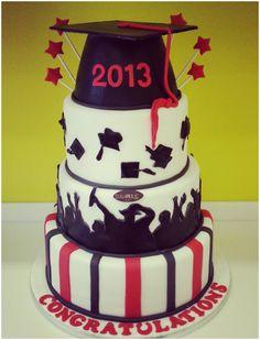 Graduation cake #graduationcake
