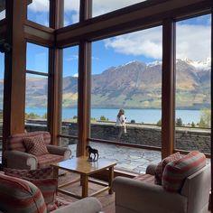 Blanket Bay, New Zealand Bay News, New Zealand, Travel Inspiration, Places To Go, Cabin, Windows, Blanket, Window, Blankets