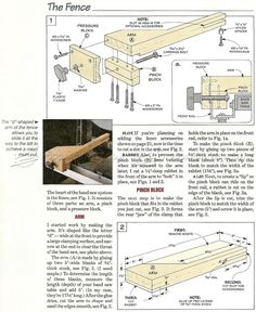 #2688 Band Saw Fence System Plans - Band Saw