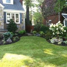 Traditional Landscape front yard landscaping Design Ideas, Pictures, Remodel and. - Traditional Landscape front yard landscaping Design Ideas, Pictures, Remodel and Decor -