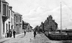 Old photograph of Elie, East Neuk of Fife, Scotland