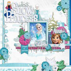 Kellybell Designs - Frozen, Frozen Word Art, Frozen Paper Stacks, Frozen Page Starters