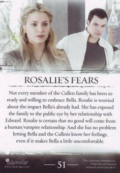Rosalie's fears (Rosalie temores) ♥ (02)