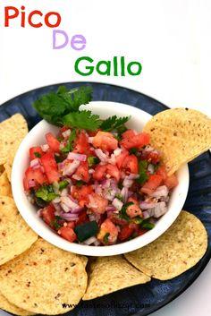 Heirloom Tomato Pico De Gallo Recipes — Dishmaps