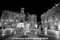 Wedding in Rome, piazza del Capidoglio