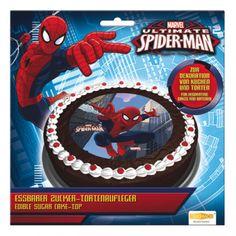 Zucker Tortenaufleger Marvel Ultimate Spider-Man 16cm