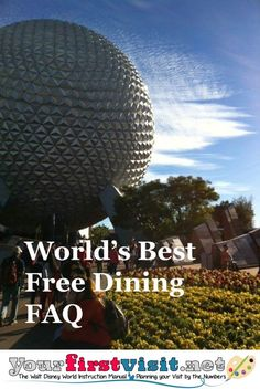 The Best-Ever Free Dining FAQ in the History of the World, 2015 Edition