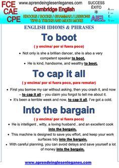 English Idioms & Expressions Advanced English FCE, CAE, CPE TOEFL TOEIC Trinity College London - ISE III Integrated Skills in English (ISE)  Trinity College London - ISE IV (C2) · ESOL