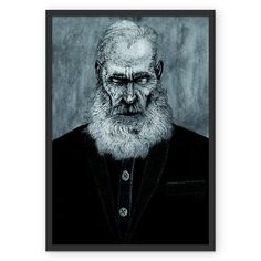 Poster Old Man de @paulomonnerat | Colab55