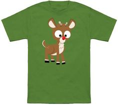 Rudolf The Red-nose Reindeer T-Shirt.