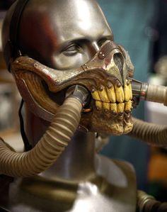 A Replica Of Immortan Joe's Oxygen Mask.