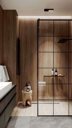 Bathroom Trends, Chic Bathrooms, Amazing Bathrooms, Small Bathrooms, Bathroom Design Luxury, Modern Bathroom Design, Home Interior Design, Interior Livingroom, Bedroom Modern