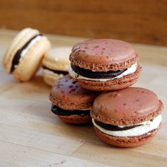 S'mores Macarons