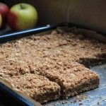 Apple plate cake with oatmeal - Sweet recipes - Dessert Recipes