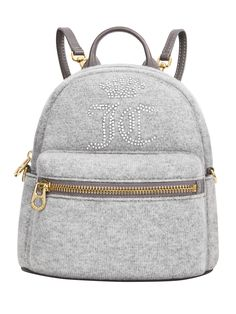 Get your cashmere backpack from Juicy Couture! ‪#‎juicyswarovski‬