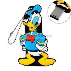 16GB USB Flash Drive Cute Cartoon Donald Duck Sha ($16.9)