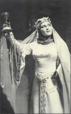 Maria Callas as Lady Macbeth in Verdi's opera