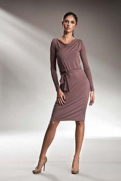 Zmysłowa sukienka z efektem wody