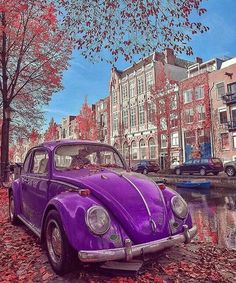 Extraordinary world ~ Amsterdam, Netherlands Photo: Congrats! Edited: app TAG your BEST friend! Vw Bus, Photos Amsterdam, Carros Retro, German Look, Vw Variant, Travel Around The World, Around The Worlds, Couple Travel, Vw Vintage