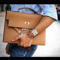 Hermès Kelly Depeches briefcase - currently a rested design