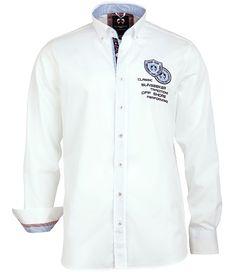 Das weiße #Hemd ist ein echtes #Unikat . . . . . der Blog für den Gentleman - www.thegentlemanclub.de/blog