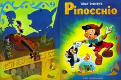 Walt Disney's Pinocchio  Illustrated by Al Dempster  Story Adapted by Steffi Fletcher  Copyright 1953