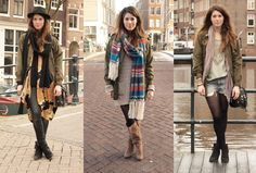 This girls winter style is so #wickedpeacock, inspiring and stylish ways to stay warm this winter!