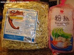 Casa Baluarte Filipino Recipes: Pancit Bam-i Recipe Filipino Noodles, Filipino Pancit, Filipino Food, Filipino Recipes, Asian Recipes, My Recipes, Snack Recipes, Cooking Recipes, Pilipino Food Recipe
