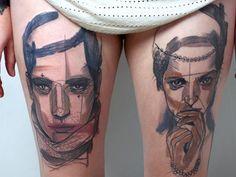 Peter Aurisch | Tattoo Design | Creative Bloq | http://www.creativebloq.com/illustration/20-brilliant-tattoo-designs-712379