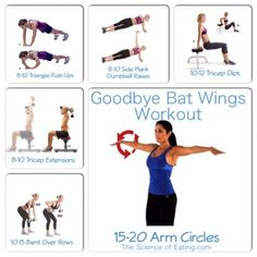 Say GOODBYE to BATWINGS! This arm shaping, tricep targeting workout will have your arms looking toned & strong in no time!