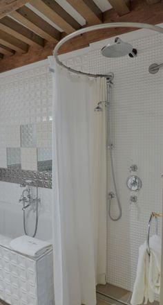 Les 8 meilleures images de barre rideau de douche - Tringle a rideau circulaire ...